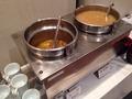 朝食バイキング スープ味噌汁コーナー