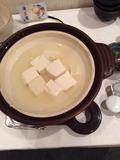 朝食バイキング 湯豆腐コーナー