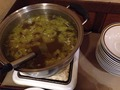 朝食バイキング スープコーナー
