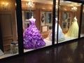 ウェディングドレス展示