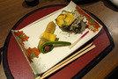 旬のお魚もお肉も楽しめる夕食に舌鼓を打ちました。