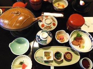写真クチコミ:金目鯛はお味噌汁から釜飯、煮付けまで丸々美味しかった。