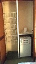 暗所の冷蔵庫