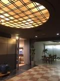 鴨川ユニバ−スホテルの中